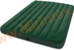 Надувные матрасы INTEX CLASSIC 152х203 х 22 см(Cо встроенным ножным насосом)