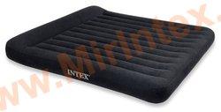 Надувные матрасы INTEX Classic с подголовником 183х203х23 см (с встроенным насосом 220В)