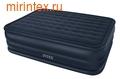 Надувные кровати INTEX Rising Comfort 152х203х56 см (с встроенным насосом 220В)
