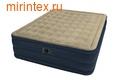 Надувные кровати INTEX Plush 152х203х46 см (с встроенным насосом 220В)