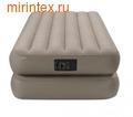 Надувные кровати INTEX Comfort 99х191х48 см (с встроенным насосом 220В)