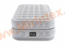 INTEX 64488 Надувная кровать Dura-Beam Deluxe 99х191х51 см, со встроенным насосом 220V