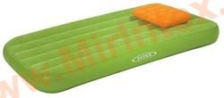 Надувные матрасы INTEX Детский с подушкой 88х157х18 см (салатовый)