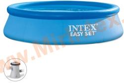 INTEX Бассейн надувной 305х76см (с картриджным фильтр-насосом 220 В)
