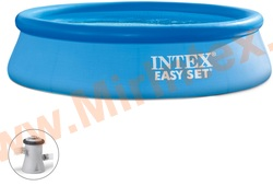 INTEX 28122 Бассейн надувной 305х76см (с картриджным фильтр-насосом 220 В)