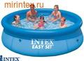INTEX Бассейн надувной 366х91см