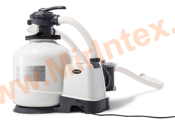INTEX Песчаный фильтр-насос 220 В, 8,0 м3/ч