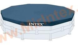 INTEX 28031 Тент на каркасный бассейн, d=366 см.